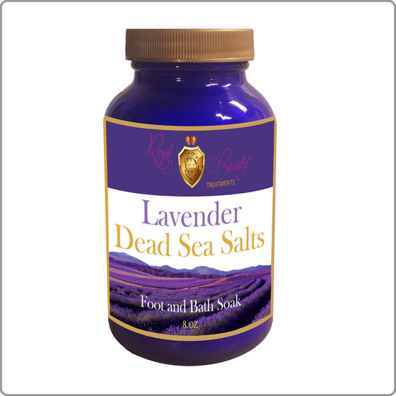 8 oz. Lavender Dead Sea Salts
