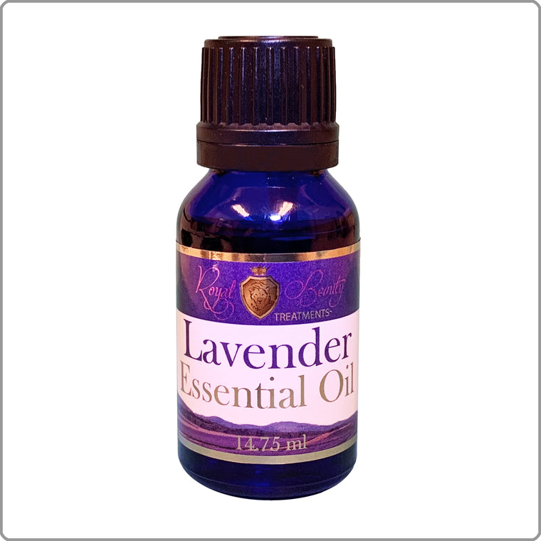 Organic Lavender Essential Oil .5 oz