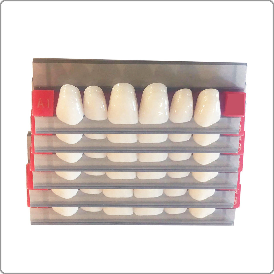 Upper Replacement Teeth 6 Pack