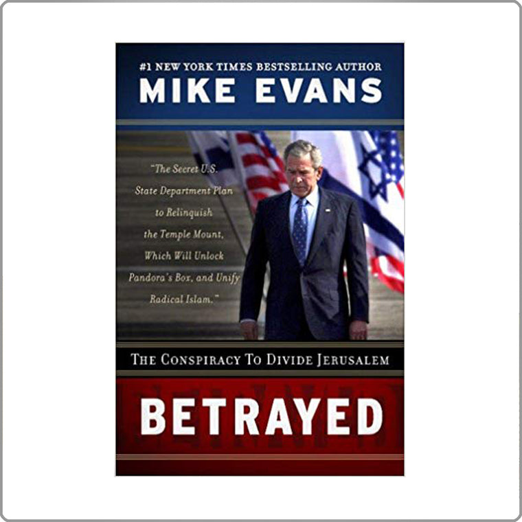 Betrayed by Mike Evans Paperback with FREE SHIPPING