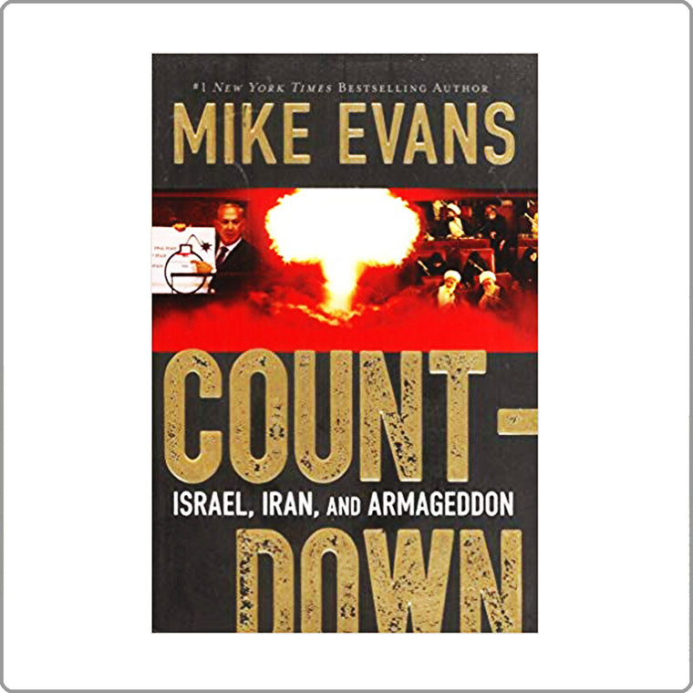 Count-Down by Mike Evans Hardcover with FREE SHIPPING!