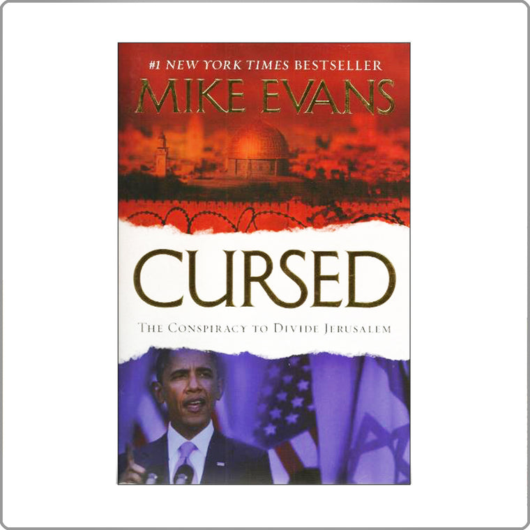 Cursed: The Conspiracy to Divide Jerusalem by Mike Evans Paperback with FREE SHIPPING!