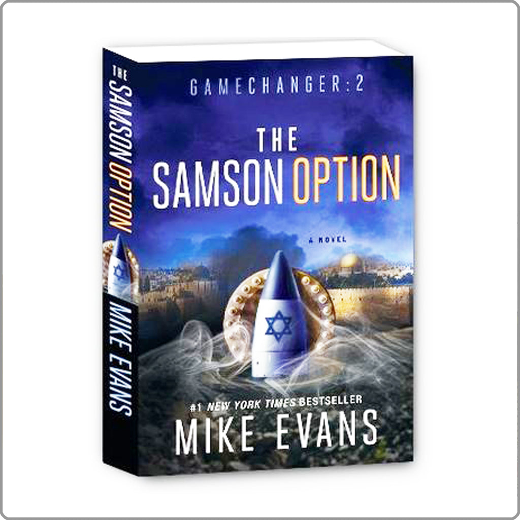 Samson Option by Mike Evans Hardcover with FREE SHIPPING!