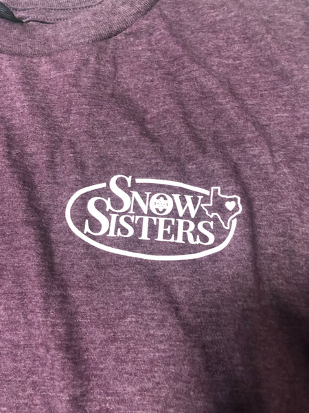 New Logo Snow Sisters Texas T-Shirt