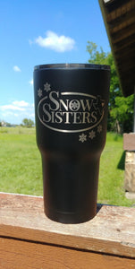 Snow Sisters Texas Tumblers