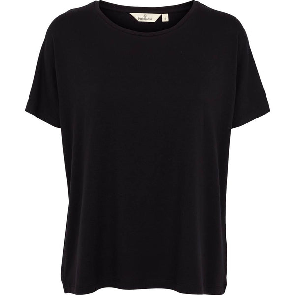 Sort Jolene oversized t-shirt fra Basic Apparel i 100% tencel