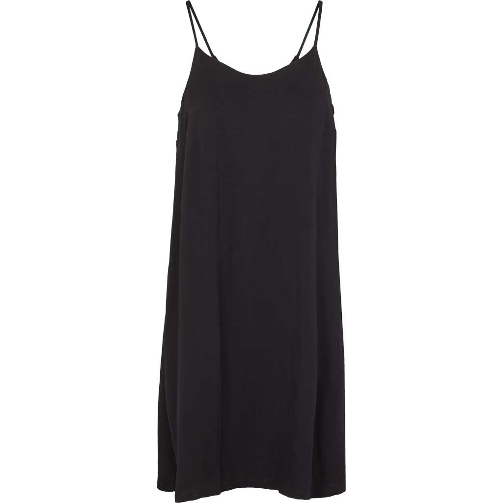 Sort Odile tank dress fra Basic Apparel i 100% viskose