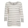 KIKI 1 striped knit sweater