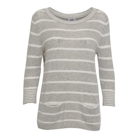 KIKI 2 striped knit sweater