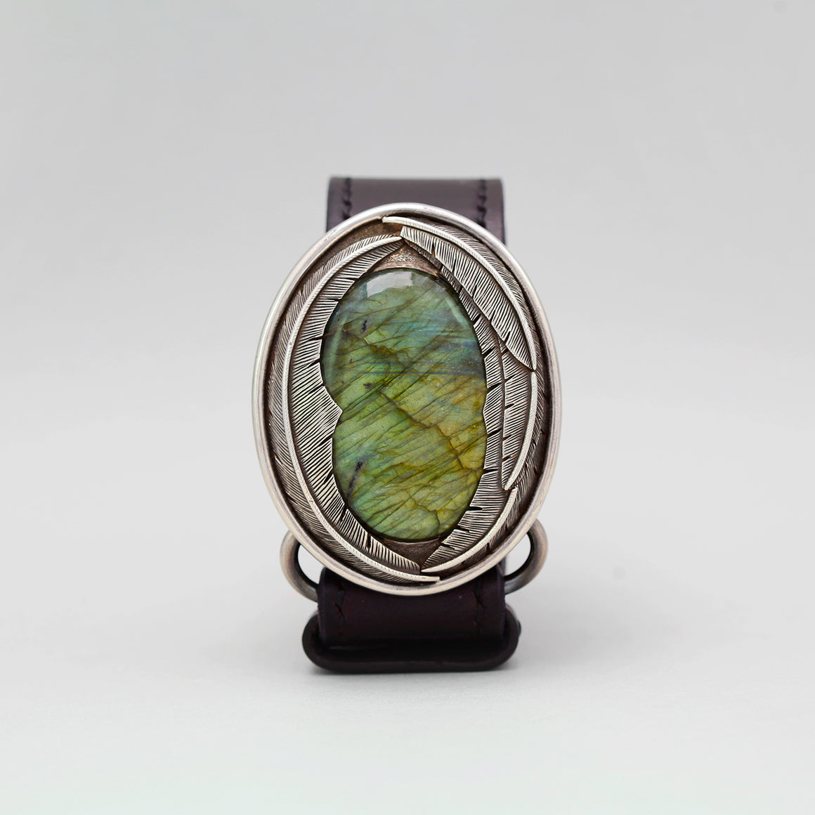 LABRADORITE FEATHER BELT