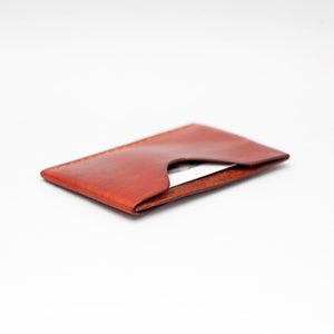 SINGLE FRONT OR BACK POCKET WALLET IN LIGHT BROWN