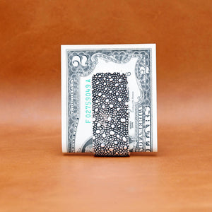 LIZARD PATTERN MONEY CLIP