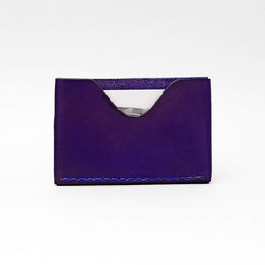 SINGLE FRONT OR BACK POCKET WALLET IN INDIGO