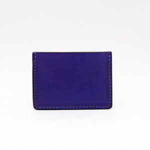 TRIPLE POCKET WALLET IN INDIGO