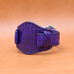 EXOTIC WATCH STRAP IN INDIGO 22MM LUG