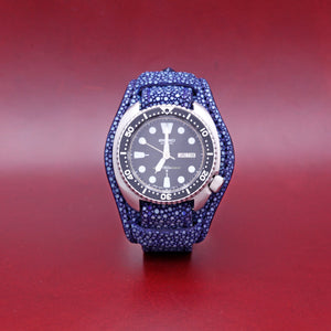 STINGRAY WATCHSTRAP IN INDIGO 22MM LUG