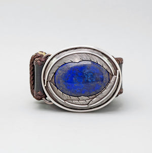 LAPIS FEATHER BUCKLE