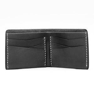 MULTI FOLD WALLET IN LIGHT BLACK