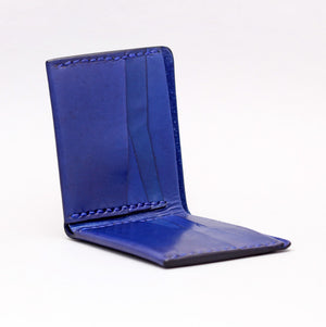 MULTI FOLD WALLET IN INDIGO