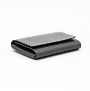 SIMPLE SNAP MAGNETIC WALLET BLACK