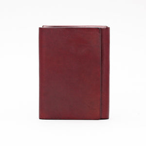 SIMPLE SNAP MAGNETIC WALLET DARK BROWN