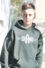 Load image into Gallery viewer, Ohana Board Shop Hoodie, Forest (Youth)