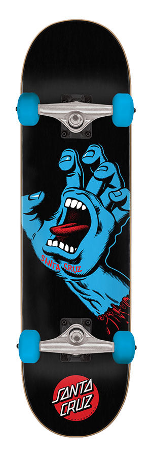 Santa Cruz Screaming Hand Complete Skateboard - 8.0