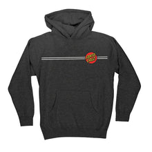 Load image into Gallery viewer, Santa Cruz Hoodie (Youth) - Charcoal Grey  with Red Dot