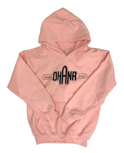 Load image into Gallery viewer, NEW! Ohana Board Shop Hoodie, Pink (Youth)