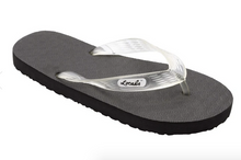 Load image into Gallery viewer, Locals Hawaiian Flip Flops (Adult), Clear Strap