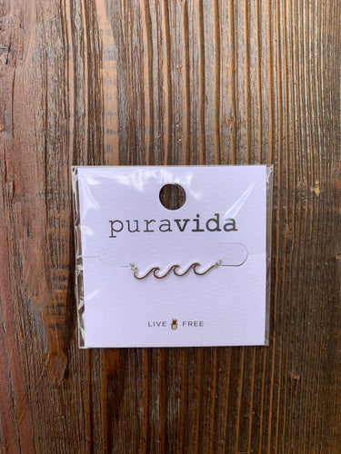Pura Vida Necklace, Wave