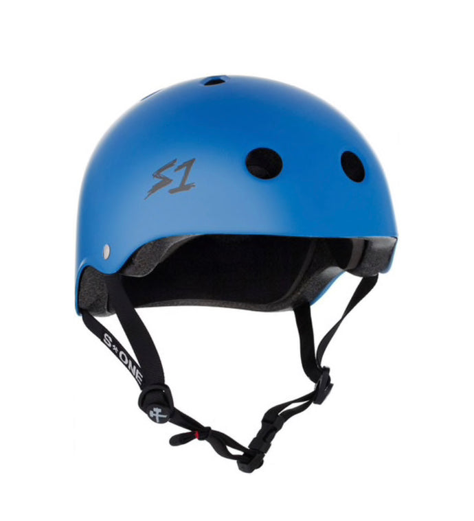 S1 Helmets (Skate + Bike Certified) - Lifer for ages 5/6 to adult, Cyan Matte