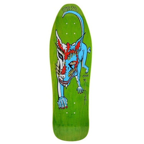SCHMITT STIX CHRIS MILLER DOG LARGE RE-ISSUE DECK- 10
