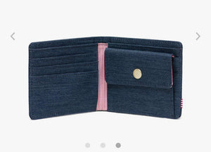 Herschel Wallet - Roy with Coin Pocket, Denim