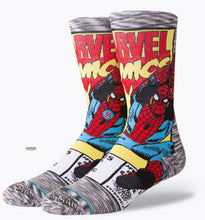 Load image into Gallery viewer, Stance Spiderman Comic (Men Size Large 9-13)