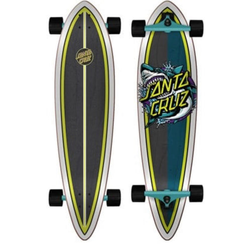 Santa Cruz Longboard - Shark Dot