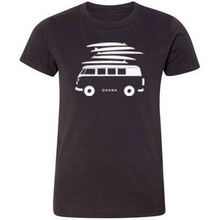 Load image into Gallery viewer, OHANA Surf Van, Black (Youth)