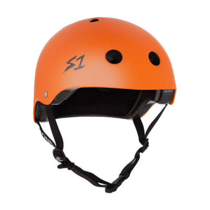 S1 Helmets (Skate + Bike Certified) - Lifer for ages 5/6 to adult, Orange