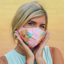 Load image into Gallery viewer, PURA VIDA X VERA BRADLEY FACE MASK - Teal