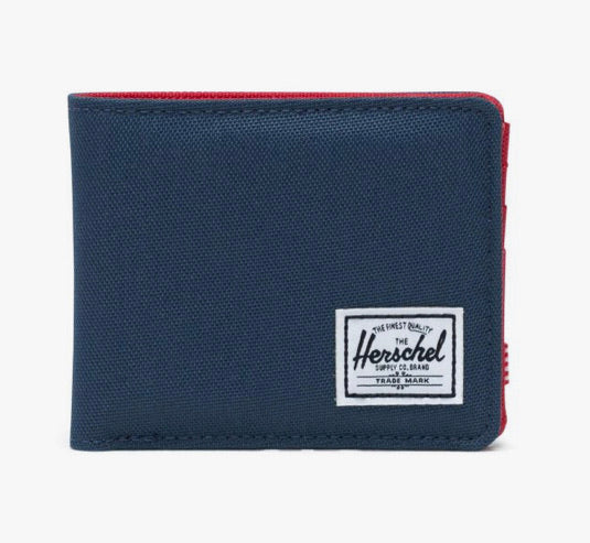 Herschel Wallet - Roy, Navy/Red