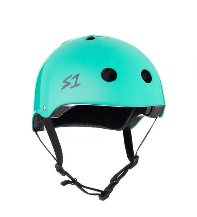 S1 Helmets (Skate + Bike Certified) - Lifer for ages 5/6 to adult, Lagoon