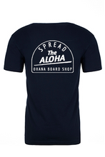 Load image into Gallery viewer, Spread the Aloha Tee, Navy