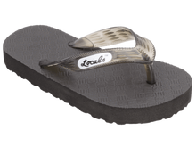 Load image into Gallery viewer, Locals Hawaiian Flip Flops (Youth), Clear Strap