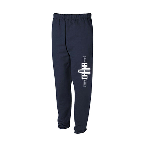 Ohana Board Shop Sweatpants, Navy