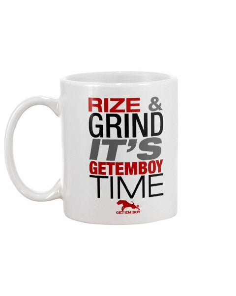 Rize and Grind GETEMBOY Coffee Mug 11oz