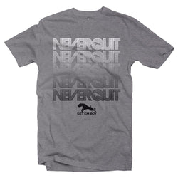 T-Shirts - GETEMBOY® TM 'NEVER QUIT'