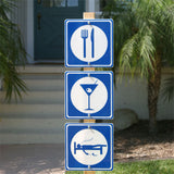 Martini Road Sign
