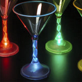 Light-up Martini Glasses, Set of 4