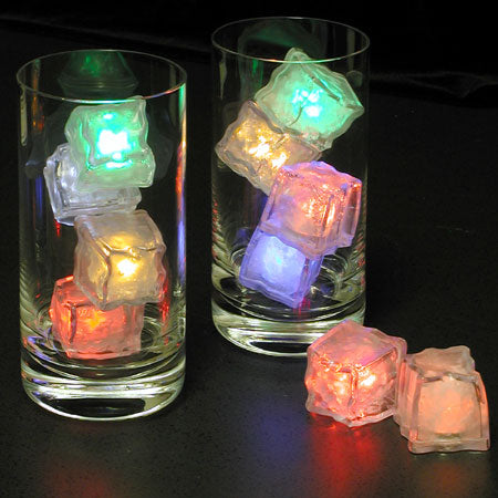 Light-up Ice Lite Cubes, Set of 4