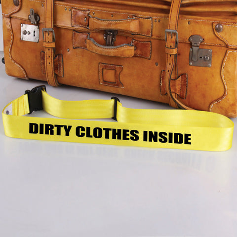Bag Tag: Dirty Clothes